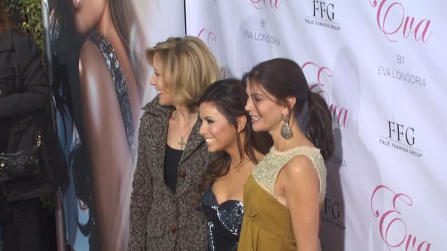 Felicity Huffman Eva Longoria Parker Teri Hatcher at the Eva Longoria Parker Fragrance Launch Party For 'Eva' at Hollywood CA