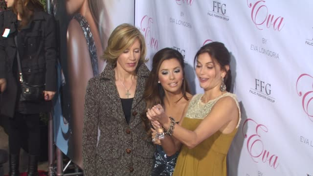 Felicity Huffman Eva Longoria Teri Hatcher at the Eva Longoria Parker Fragrance Launch Party For 'Eva' at Hollywood CA