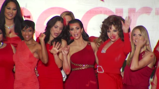 Felicity Huffman Jordin Sparks Kristin Chenoweth RavenSymone Kimora Lee Bethenny Frankel Regina King Dara Torres Kim Kardashian Joan Collins Heidi...