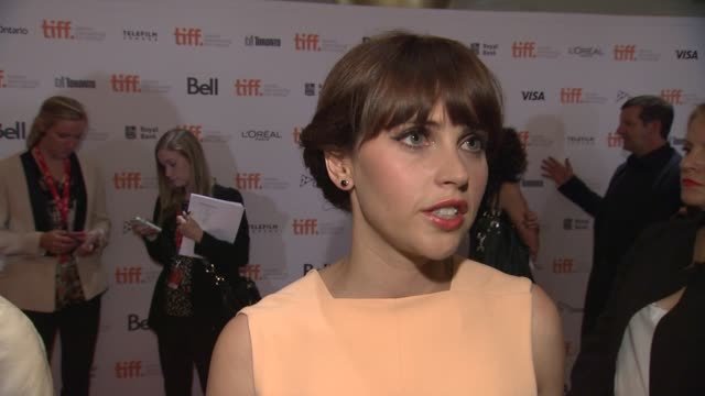 INTERVIEW Felicity Jones on screening the film at TIFF what she thinks people will learn from it and Stephen Jane Hawkings' reaction The Theory Of...