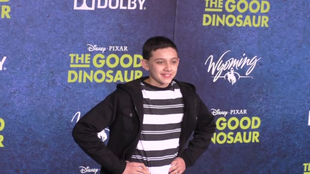 Felix Avitia at The Good Dinosaur Premiere at El Capitan Theatre in Hollywood at Celebrity Sightings in Los Angeles on November 17 2015 in Los...
