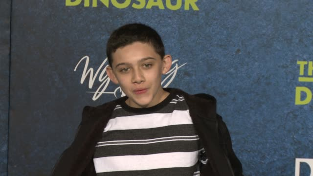 felix avitia at the good dinosaur world premiere at the el capitan theatre on november 17 2015 in hollywood california - el capitan theatre stock videos and b-roll footage
