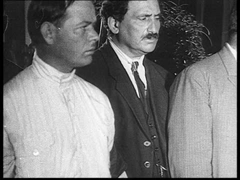 felix edmundovich dzerzhinsky's burial , mortuary chapel in trade unions house, members of vsnkh / moscow, russia - 1926 bildbanksvideor och videomaterial från bakom kulisserna
