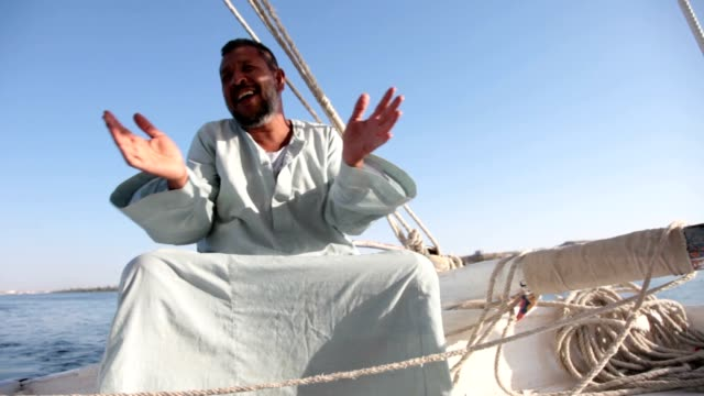 felucca - egypt stock videos & royalty-free footage
