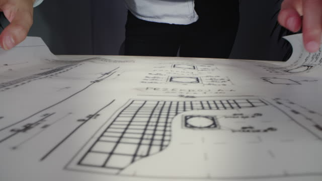 female architect working in office - industrial designer stock videos & royalty-free footage