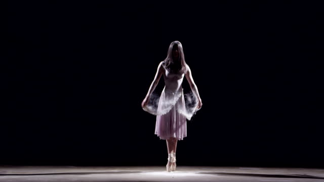 female ballet dancer - pirouette stock videos and b-roll footage