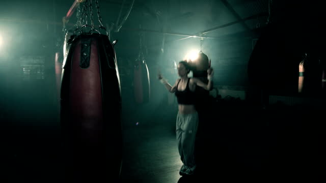 ms female boxer training. - fighter stock videos and b-roll footage