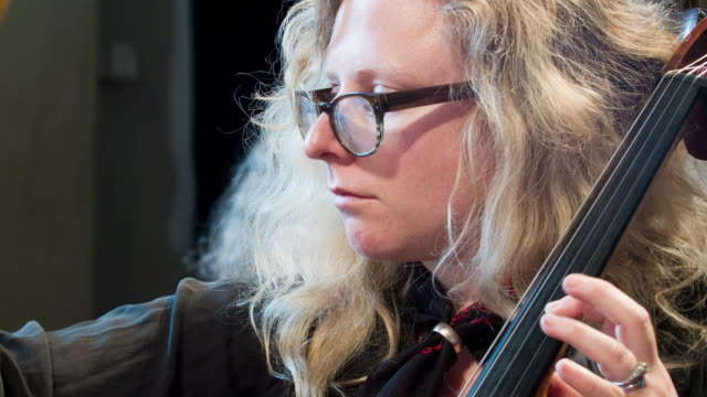 female cellist practicing - cellist stock videos & royalty-free footage