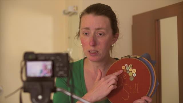 Female Craft Vlogging