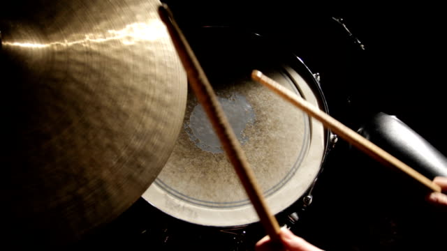 female drummer - young woman plays drums - frau stock videos & royalty-free footage