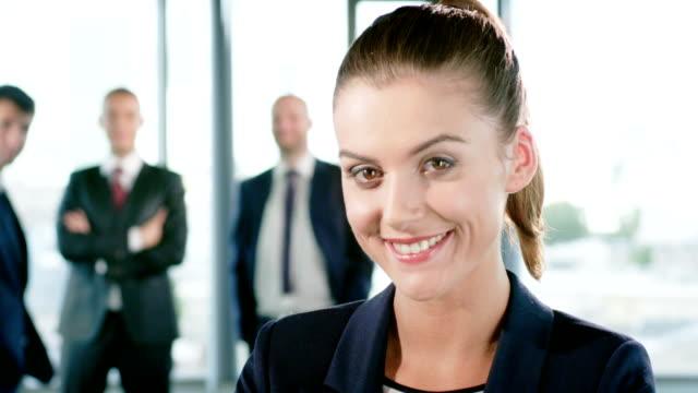 Weibliche executive
