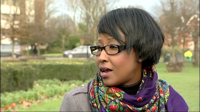 one woman's story england london ext setup shots of reporter and hodo warsame and interview sot in and out of hospital since age of 12 told i... - mutilazioni genitali femminili video stock e b–roll