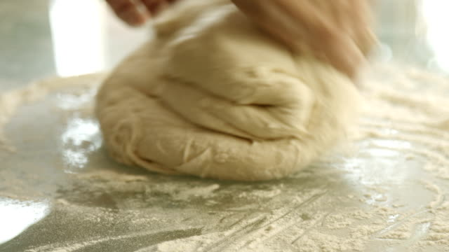 female hands monthly dough - bread stock videos & royalty-free footage