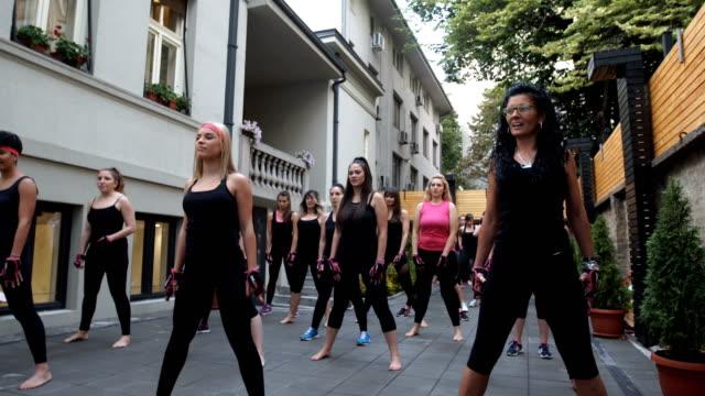 female health club - strongwoman stock videos & royalty-free footage
