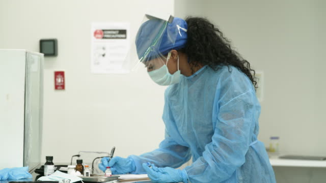 female medical professional working in the hospital - nurse cap stock videos & royalty-free footage