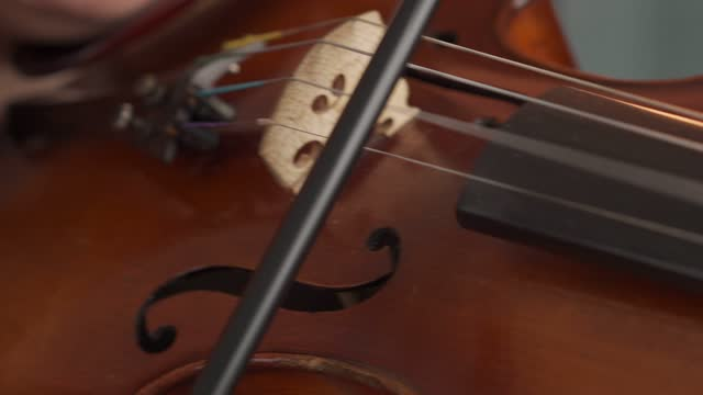 female musician playing on the violin - composer stock videos & royalty-free footage