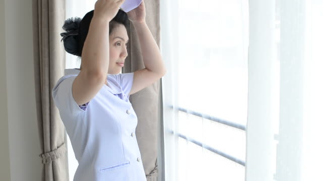 Female nurse of Thailand