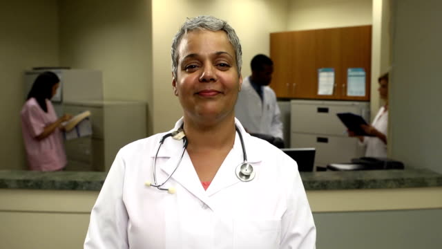 Female Physician in Office