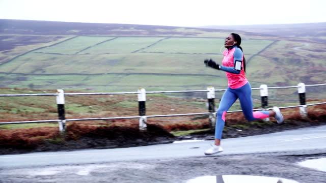 Female Runner in Training