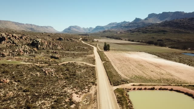 Female runs through the extreme terrain of the Cederberg