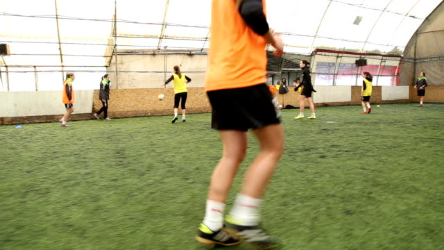 female soccer match - women's football stock videos & royalty-free footage