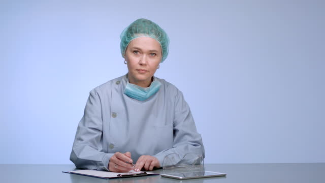 female surgeon - plastic surgery stock videos and b-roll footage