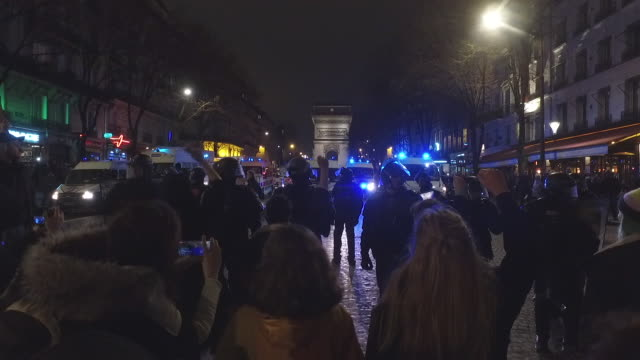feminist activists avenue de wagra next to the cesar film awards ceremony to protest against the nominations of roman polanski's film 'an officer and... - lynching stock videos & royalty-free footage