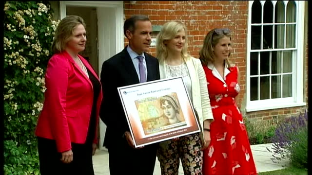 Feminist campaigner and Labour MP subjected to menacing tweets R25071308 / 2572013 Alton Jane Austen's House Museum Mark Carney posing for photocall...