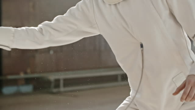 Fencing hit