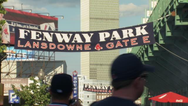 MS Fenway Park Gate sign / Boston, Massachusetts, USA