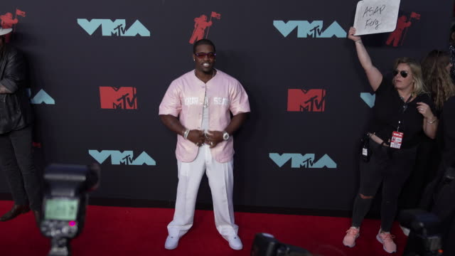 ferg at 2019 mtv video music awards at prudential center on august 26, 2019 in newark, new jersey. - mtv1 stock videos & royalty-free footage
