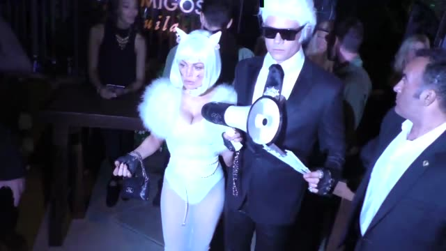 Fergie and Josh Duhamel at the Casamigos Tequila 'Dia De Los Muertos' Halloween party in Beverly Hills at Celebrity Sightings in Los Angeles on...