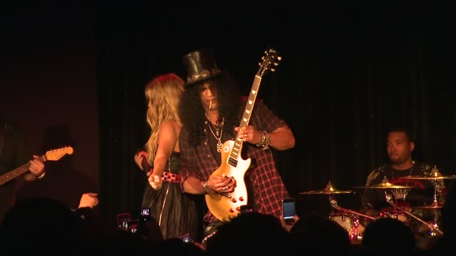 Fergie and Slash at the 5th Annual Black Eyed Peas Peapod Foundation Benefit Concert at Los Angeles CA