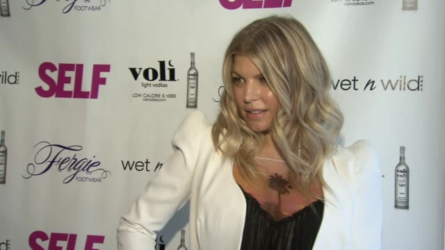 fergie at self magazine celebrates the july music issue with cover star fergie at the hotel on rivington penthouse on june 05 2012 in new york new... - penthouse stock videos & royalty-free footage