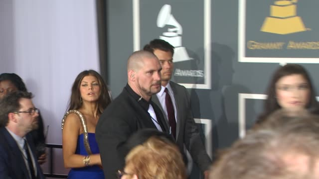 fergie josh duhamel at the 52nd annual grammy awards arrivals part 2 at los angeles ca - fergie duhamel stock videos and b-roll footage