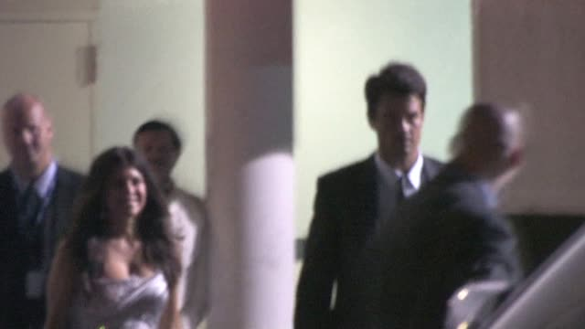 fergie josh duhamel at the beverly hilton in beverly hills at the celebrity sightings in los angeles at los angeles ca - fergie duhamel stock videos and b-roll footage