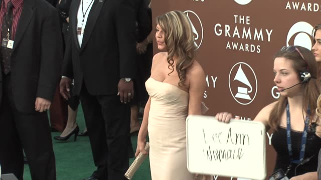 fergie of the black eyed peas at the 2006 grammy awards arrivals at the staples center in los angeles california on february 8 2006 - the black eyed peas band stock videos and b-roll footage