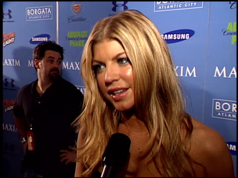 fergie on being a maxim girl at the maxim celebration of super bowl xli at h?tel de maxim in south beach, florida on february 2, 2007. - south beach stock videos & royalty-free footage