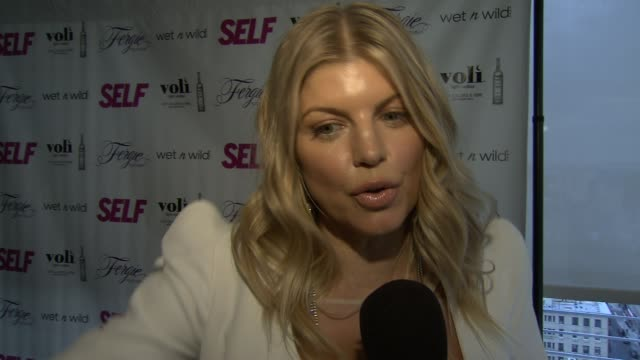 fergie on music and fitness at self magazine celebrates the july music issue with cover star fergie at the hotel on rivington penthouse on june 05... - penthouse magazine stock videos & royalty-free footage