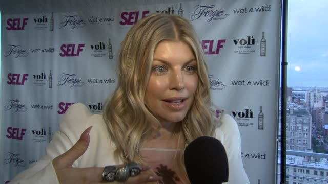 fergie talks about coachella at self magazine celebrates the july music issue with cover star fergie at the hotel on rivington penthouse on june 05... - penthouse stock videos & royalty-free footage