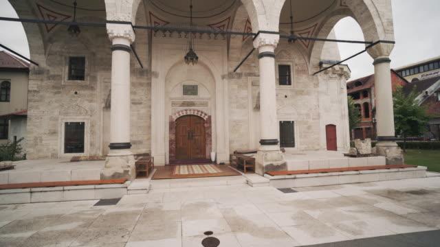 ferhadija / rebuilt mosque in banja luka, bosnia and herzegovina - banja luka stock videos & royalty-free footage
