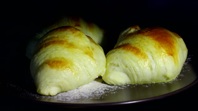 fermenting and baking croissants - lactose fermentation stock videos & royalty-free footage