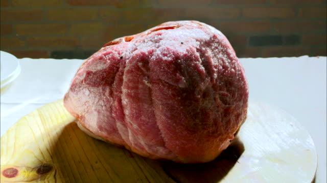 Fermenting Culatello Prosclutto Italian dry-cured uncooked ham