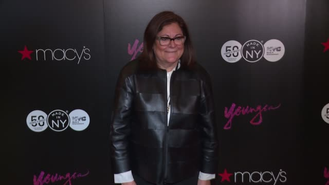 vídeos y material grabado en eventos de stock de fern mallis at patricia field jacqueline demeterio from tv land's younger curate fashion show at macy's at macy's herald square on january 26 2017 in... - macy's