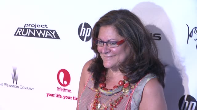fern mallis at project runway 10th anniversary party at highline on july 17 2012 in new york new york - project runway stock videos and b-roll footage