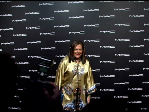 Fern Mallis at the Olympus Fashion Week Fall 2006 MAC Chinese Dress Party Inside at Eyebeam in New York New York on February 2 2006