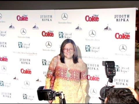 Fern Mallis at the Rock the Runway Presented By Mercedes Benz Fashion Week and City of Hope at HD Buttercup in Los Angeles California on March 15 2005