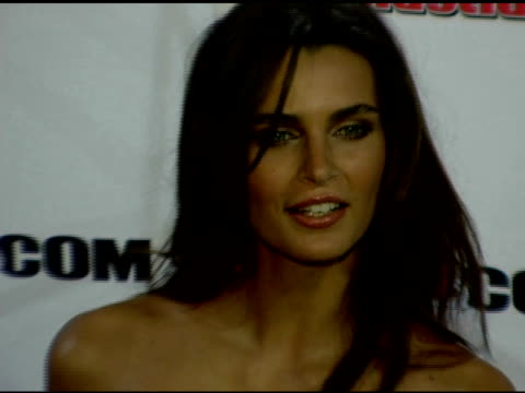 fernanda motta at the 2006 sports illustrated swimsuit issue photocall at crobar in new york new york on february 14 2006 - sports illustrated swimsuit issue stock videos & royalty-free footage