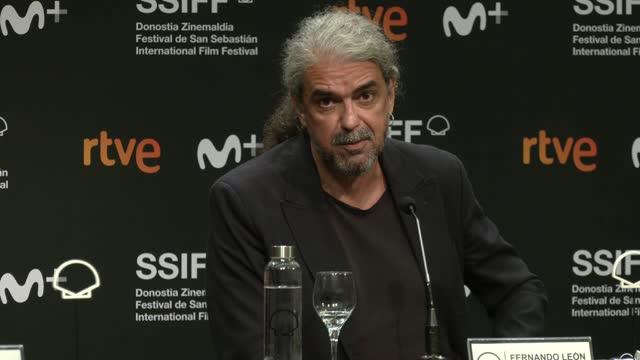 """ESP: """"El Buen Patron / The Good Boss"""" Press Conference - 69th San Sebastian Film Festival"""