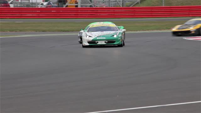 Ferrari 458 Trofeo Pirelli Coppa Shell Silverstone Circuit England NO